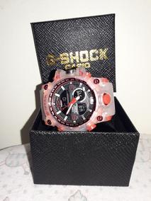 Relógio Esportivo Gshok Mundmaster Com Caixa