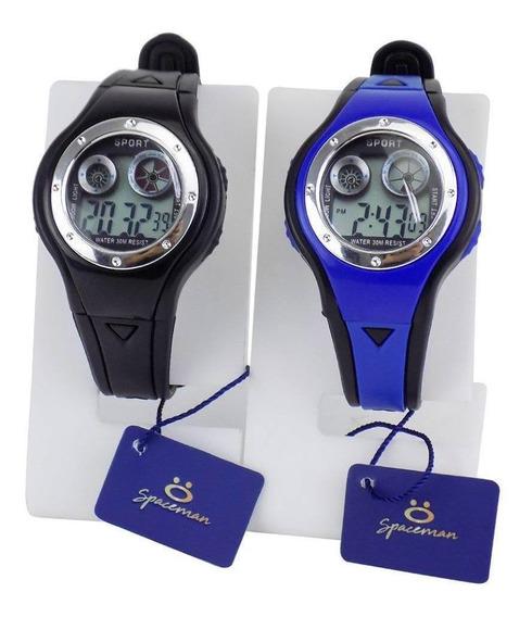 Kit 2 Relógios Infantil Digital Kids Ajustável 3ross