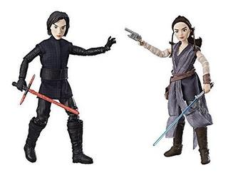 Star Wars Forces Of Destiny Rey De Jakku Y Kylo Ren Figura P