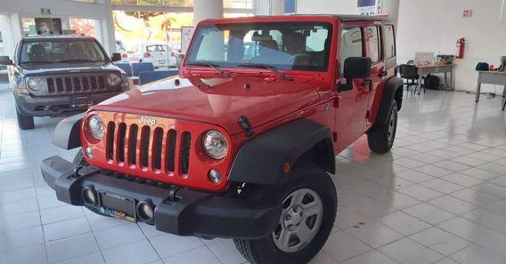 Jeep Wrangler 2018 5p Unlimited Sport V6/3.6 Aut