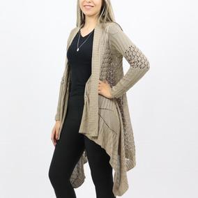 Cardigan Longo De Lã Adulto Feminino Liso Inverno Quente 173