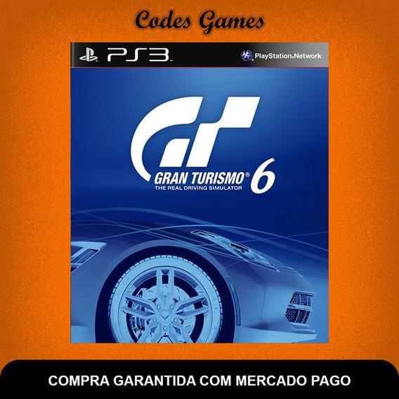 Gran Turismo 6 - Português - Ps3 - Pronta Entrega