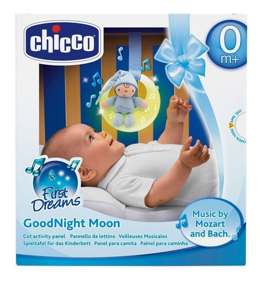 Chicco First Dreams Good Night Moon Celeste 24262 E.full