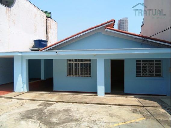 Casa Comercial Para Locação, Santa Maria, Santo André. - Ca0007