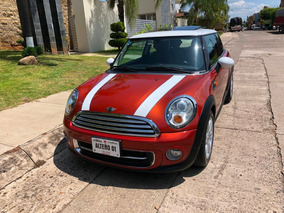 Mini Cooper 1.6 Chili Aa Tela/piel Qc At
