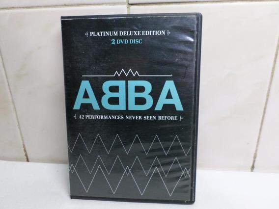 Abba Dvd Doble Platinum Deluxe Edition 42 Perfomances