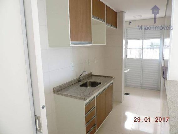 Apartamento 2 Dormitórios Para Alugar, 60m², Edifício Ateliê Campolim, Parque Campolim Em Sorocaba/sp - Ap0783