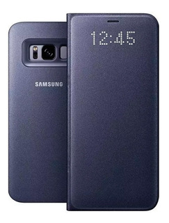 Funda Flip Samsung Led View Cover Para S8 Original