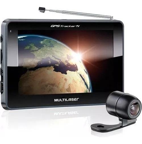 Navegador Gps Multilaser 4.3 C/ Tv E Câmera De Ré Gp035