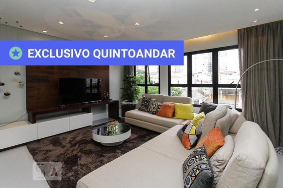Apartamento No 3º Andar Mobiliado Com 3 Dormitórios E 2 Garagens - Id: 892877174 - 177174