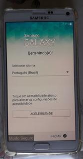 Celular Samsung Galaxy Note 4 + Carregador E Bateria Extra