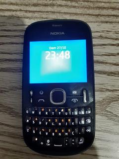 Nokia Asha 201 2g Simples Bom Bateria E Carregador