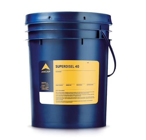 Aceite Superdisel 40 Ancap Balde 20 Lts Lubricante - Tyt