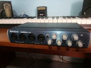 Placa De Audio Presonus Audiobox 44vsl