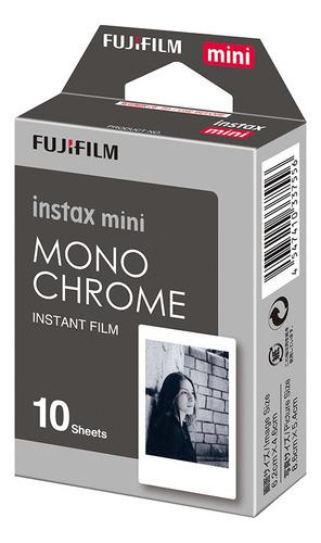 Filme Fujifilm Instax Mini Mono Chrome - 10 Poses