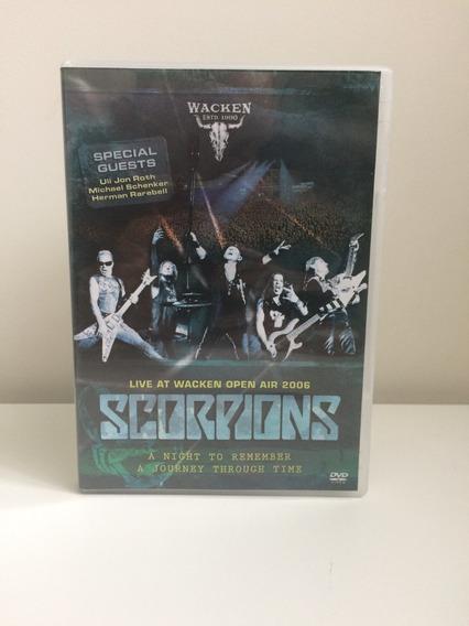 Dvd Scorpions - Live At Wacken Open Air 2006