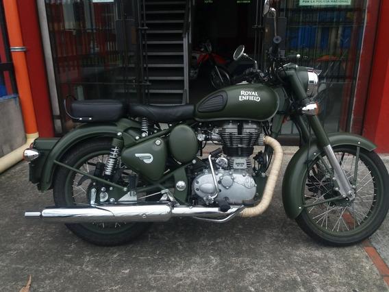 Royald Enfield Classic 500 Battle Green