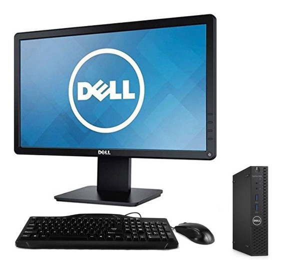 Cpu + Monitor Dell 3050 Micro Core I3 7ger 4gb 500gb - Novo