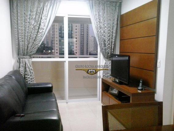 Apartamento Com 2 Dormitórios À Venda, 53 M² Por R$ 550.000,00 - Tatuapé - São Paulo/sp - Ap1337