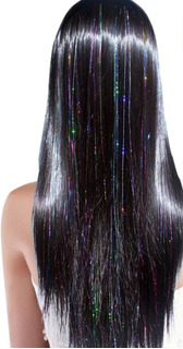 Extension De Pelo Holografica Hair Tinsel 3 Paq 450 Hilos