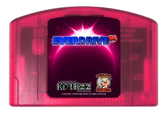 Everdrive N64 Orig. Krikzz 2.5 Sem Cartão Sd (lacrado)