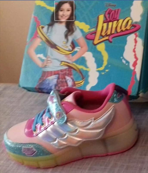 Zapatillas Soy Luna Led Y Roller. Ultimo Disponible! 34