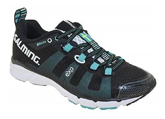 Zapatillas Salming Running Enroute Black Mujer Importada