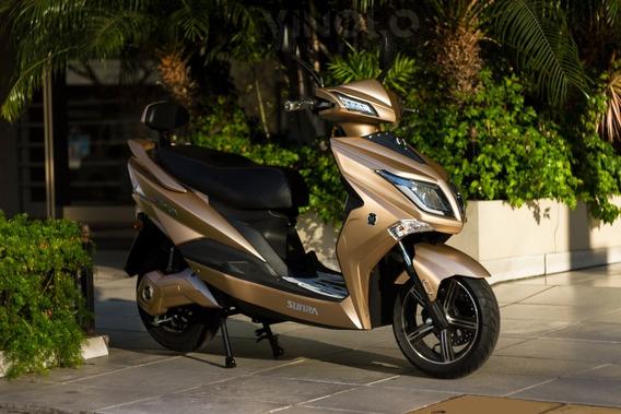 Moto Eléctrica Hawk Litio Y Acido Cuotas Gob 16% Viñolo /a
