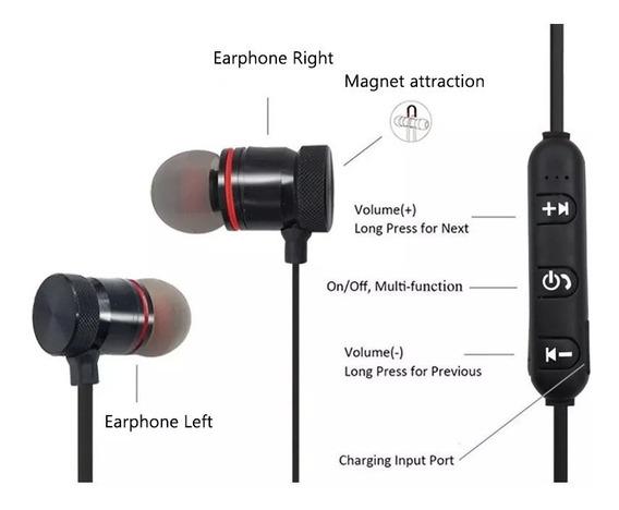 Audifonos Inalámbrico Bluetooth Manos Libres Sport Headset