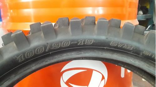 Cubierta Dunlop Semi Pala Usada 100/90/19