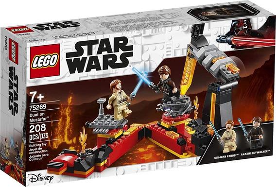 Lego Set 75269 Duel On Mustafar Star Wars Toypride 208 Pz