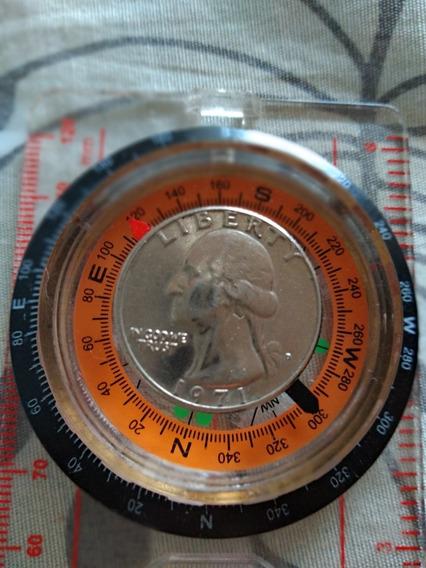 1/4 Dólar Quarter Dollar 1971 Moedas Antigas