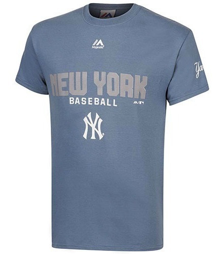 Playera Yankees Caballero Majestic