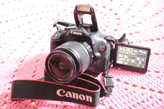 Canon T3i + Lente 18-55mm Is