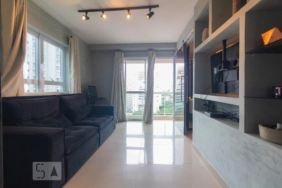 Apartamento Para Aluguel - Brooklin, 1 Quarto, 52 - 893019647