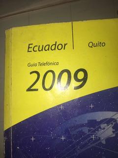 Guía De Quito Antigua Completa Año 2009 Y 2012 Cnt