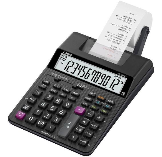 Calculadora Casio Hr-150rc Bobina/impressao- Peto