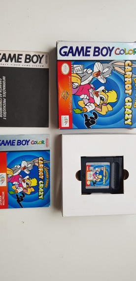 Looney Tunes Carrot Crazy Game Boy Color