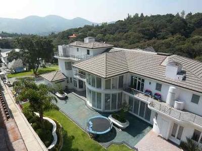 Er897.- Exclusiva Para Usted. Majestuosa Residencia. Hacienda De Valle Escondido
