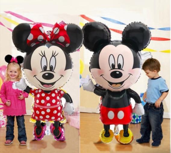 Globo Gigante Mickey - Minnie - Hello Kitty- Minnion . 1 Pza