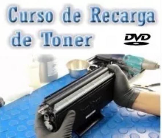 2 Dvds Curso De Recarga Toner Envio Por Correio Ou Link