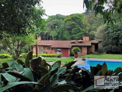 Granja Viana - Miolo Da Granja - Excelente Casa Térrea Em Estilo Rústico De Tijolos À Vista. Avarandada, Com Bom Acabamento. - Ca1973