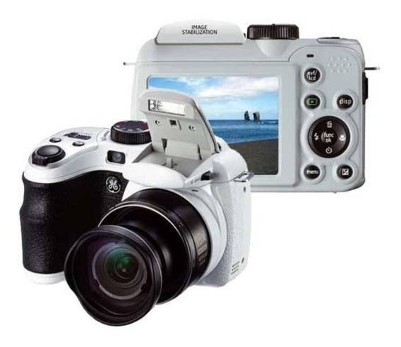 Câmera Digital Ge 5x 14.1 Zoom Óptico 15x Cor Prata + Brinde