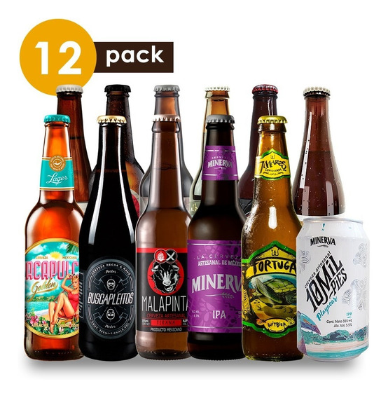 Cerveza Artesanal Todo Pack Cervexxa Beerpack 12
