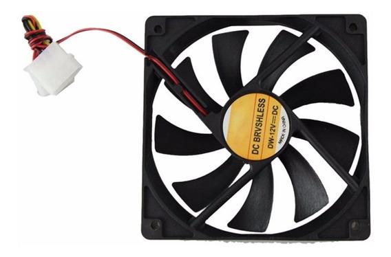 Fan Cooler Extractor Ventilador 7cm 70mm Pc Case Pack 6