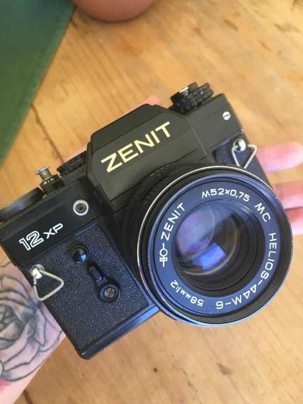 Câmera Zenit Analógica Funcionando