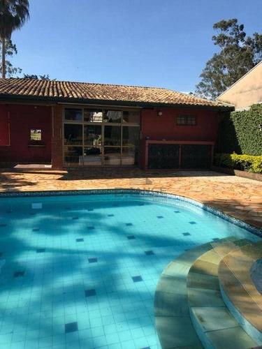 Imagem 1 de 27 de Chácara Com 5 Dormitórios À Venda, 2520 M² Por R$ 1.150.000,00 - Guara - Campinas/sp - Ch0477
