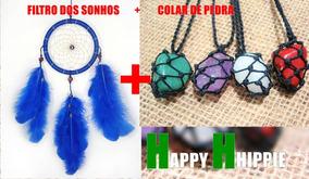 Filtro Dos Sonhos + Colar De Pedra Do Seu Signo, Happyhippie