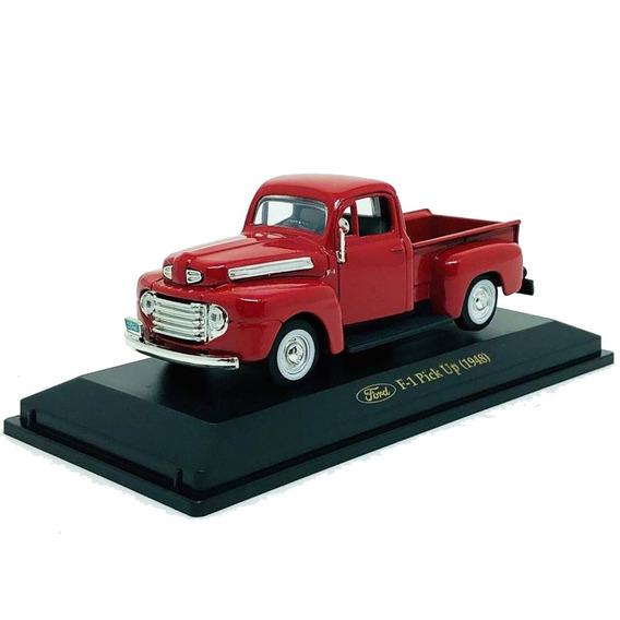 Ford F1 Pickup 1948 1:43 Yatming Vermelha