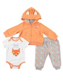 Conjunto De Frio Para Bebê Menina Quiltex 24 Meses